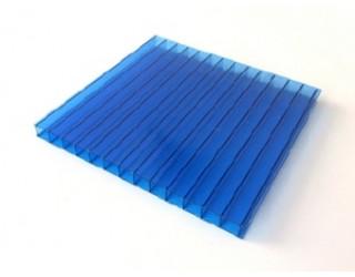 Поликарбонат сотовый Сибирские Теплицы 4мм (синий, 6000*2100)