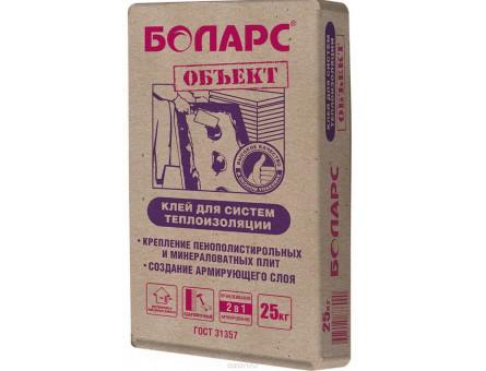Клей для систем теплоизоляции Теплоконтакт Боларс, 25 кг.