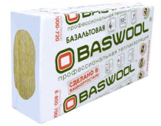 BASWOOL ФАСАД -110 1200х600х50 (0,216м³/ 4,32м²/ 6 плиты)